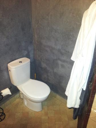 Riad La Porte Rouge: WC