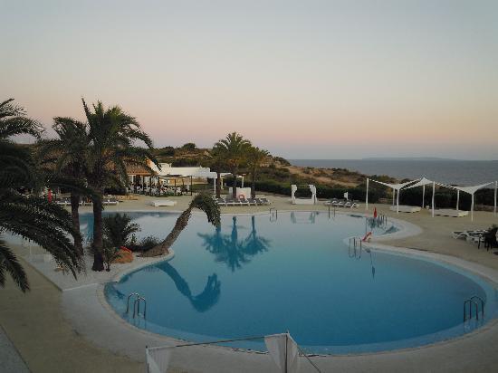 The One Ibiza: camera vista mare