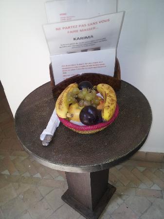 Riad La Porte Rouge: Fruta