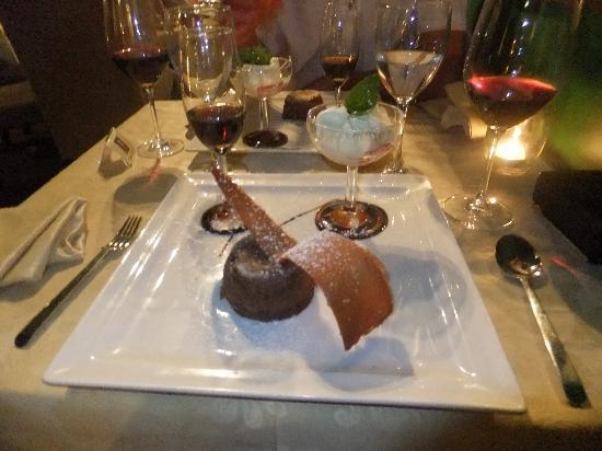 Restaurante Mozart: Desert was a must !