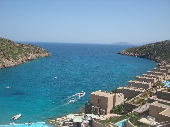 Excellent Views From The Daios Cove Gran Melia Crete Picture Of