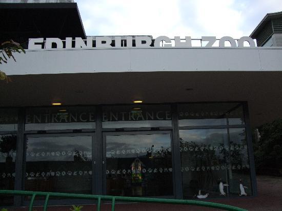 Edinburgh Zoo: 入口