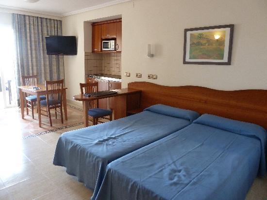 Blau Park Aparthotel: camas no muy cómodas