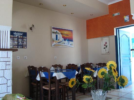 Hotel Lignos: tavoli colazione