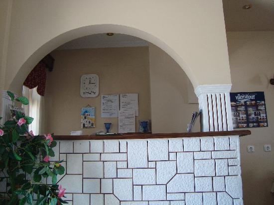 Hotel Lignos: reception