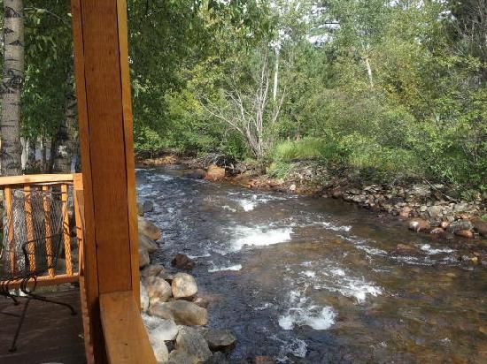 Paradise on the River: View from the deck