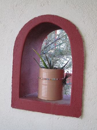 Namib Desert Lodge: dettaglio della veranda del bungalow