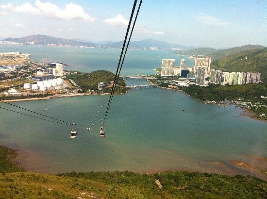 หมู่บ้านนองปิง (นองปิง 360): take cable car back to the town