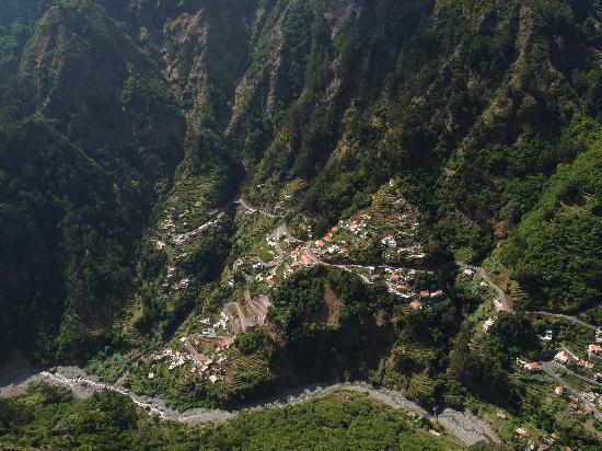 Hotel Madeira: nuns valley