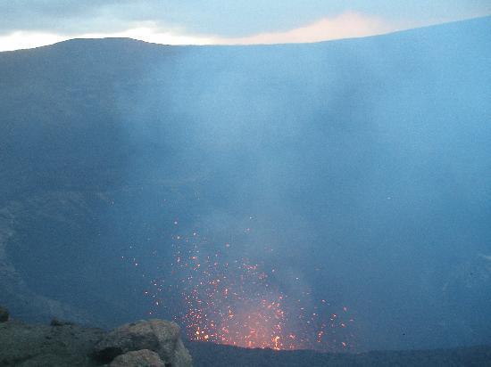 Mount Yasur: before sunset