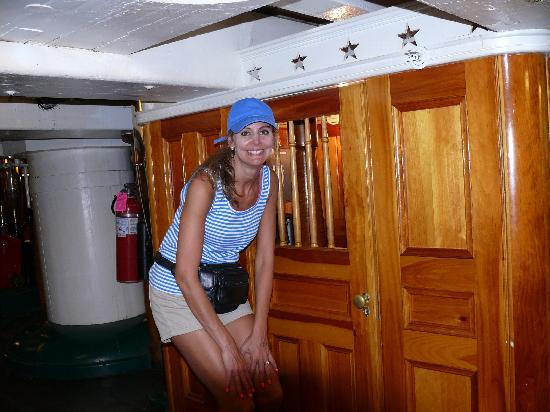 USS Constitution Museum: Were men shorter then?