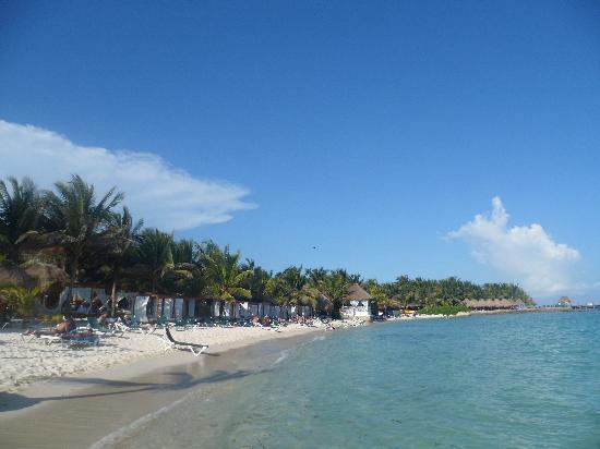Sensimar Resort Riviera Maya: The beach
