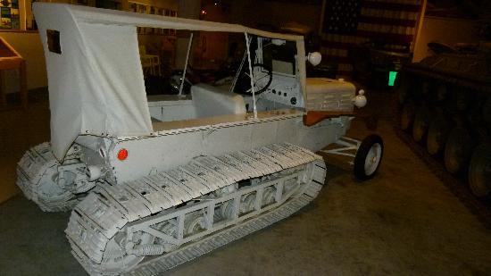 Wright Museum of WWII: Sno cat