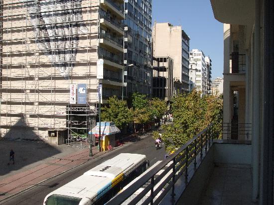 Chic Hotel: vista sulla strada