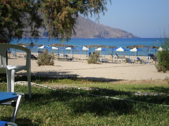 Mare Monte Beach Hotel: vue depuis l'hôtel