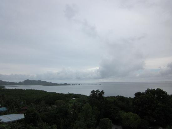 Palasia Hotel Palau: オーシャンビュー(スコール)