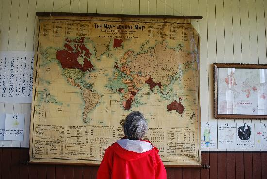 Highland Folk Museum: The school room