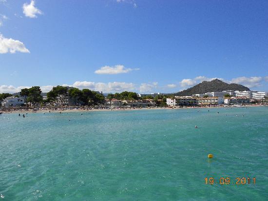 Playa de Palma, สเปน: Alcudia - Beach las gaviotas