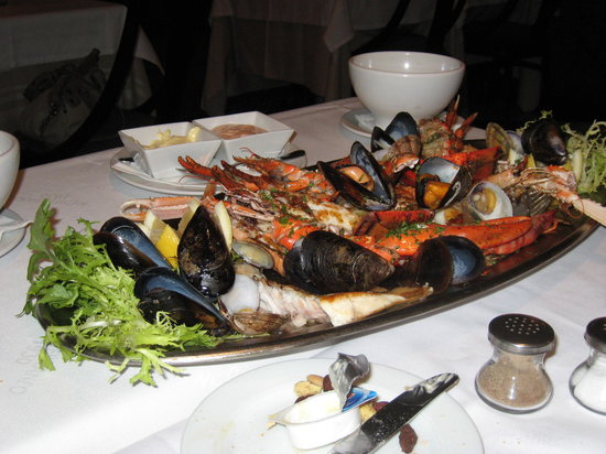 Mediterraneo 1930 : Seafood platter for two
