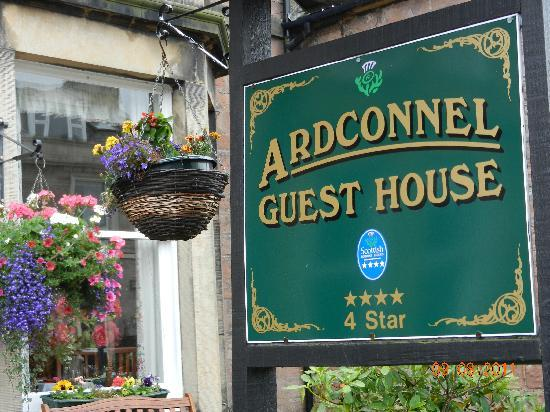 Ardconnel House B&B: Ardconnel House Entrance