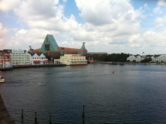 Disney's BoardWalk Inn: view to the left