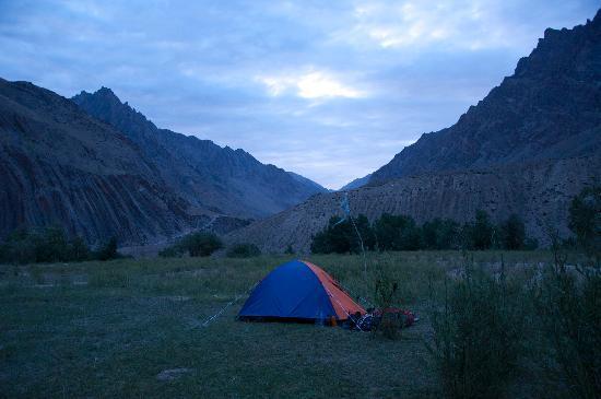 Zanskar Valley: Hanumil Camping Ground