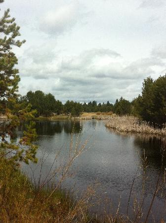 Sunriver Resort: the lazy river at the nature center