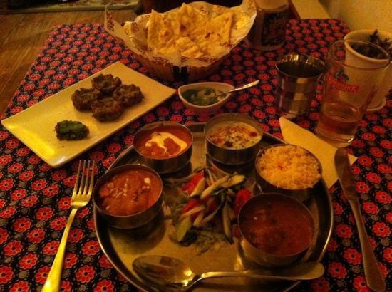 Mirch Masala Indian Restaurant: entrée et menu combo