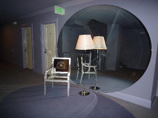 โรงแรมคลิฟท์ ซานฟรานซิสโก: le hall de l'étage