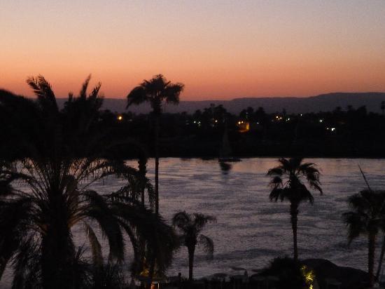 ACHTI Resort Luxor: Sunset view