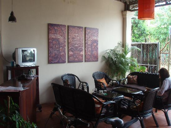 Siem Reap Rooms Guesthouse: エントランス2