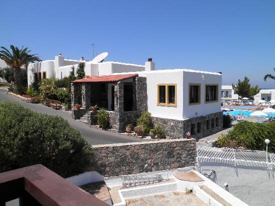 Hersonissos Village Hotel : l'accueil du village