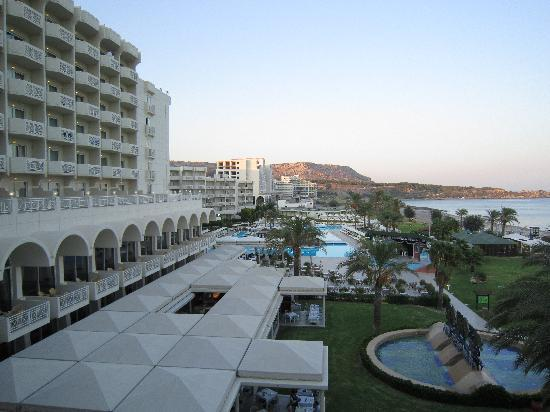 Rodos Palladium: the view from our superior room