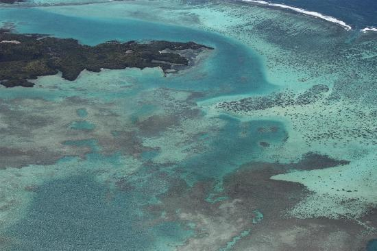 Skydive Mauritius: View from the plane