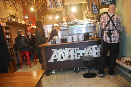 Melbourne Central: Brother Baba Budan cafe