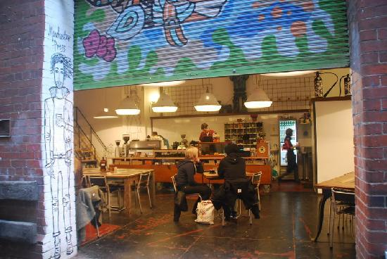 Melbourne Central: Manchester Press cafe
