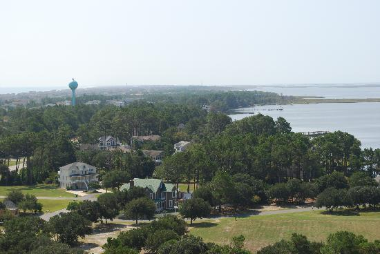 Currituck Beach Lighthouse: View from the top
