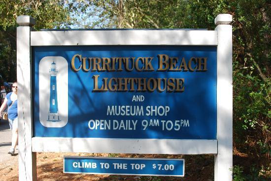 Currituck Beach Lighthouse: Entrance