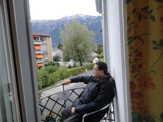 Carlton-Europe Hotel: Balcony