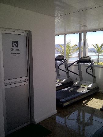 Orla Copacabana Hotel: Sauna and fitness center