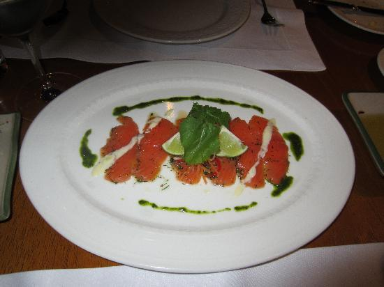 Tampu Restaurant at Sanctuary Lodge: Rainbow Trout Tartare (Very Good)