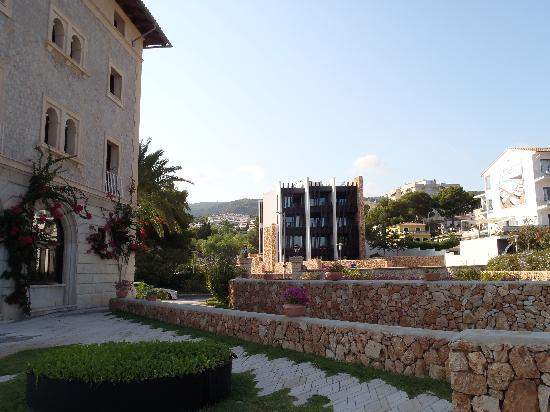 Hospes Maricel Mallorca & Spa: New house on the other side