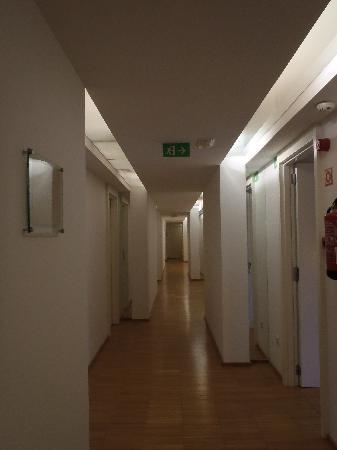 Hospes Maricel Mallorca & Spa: Boring corridor