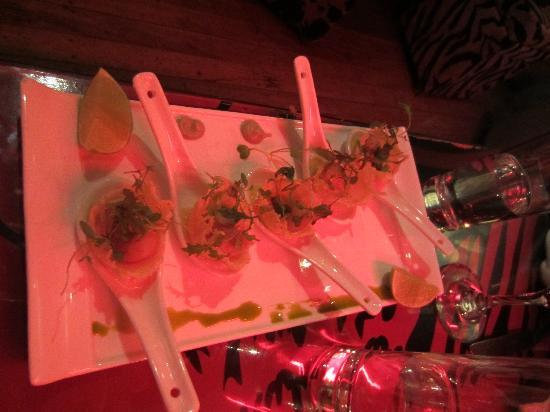 Fallen Angel: Scallops in Asparagus Puree