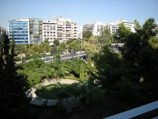 The Park Hotel : View from third floor room