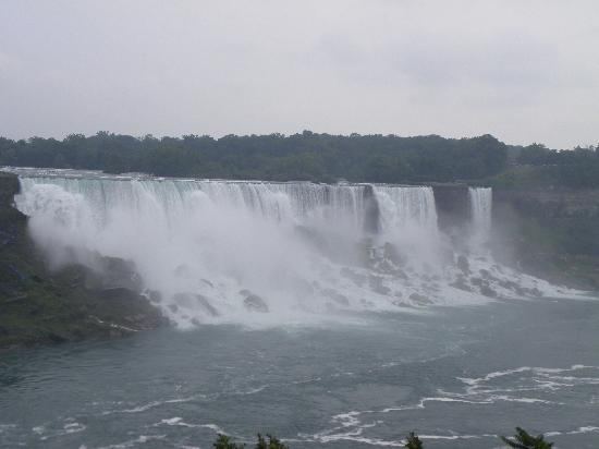 Niagara Falls: view of the American Falls from the Canadian side