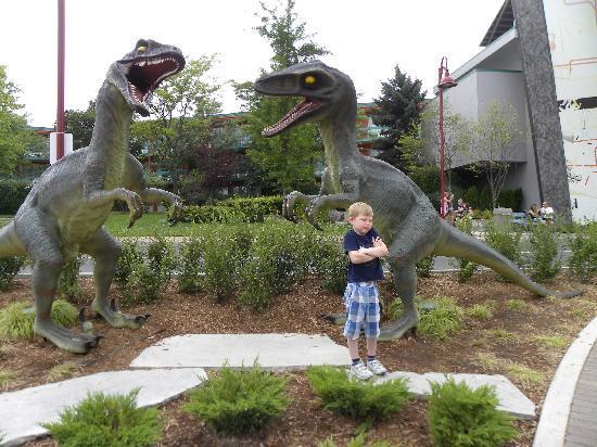 Niagara Falls: some Canadian dinosaurs