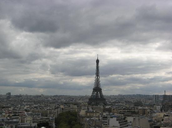 ประตูชัย: View of Eiffel