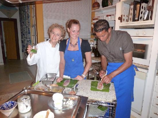 Academy of Cooking and Other Pleasures: Making our main meal