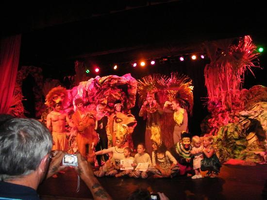 Barcelo Fuerteventura Thalasso Spa: lion king show